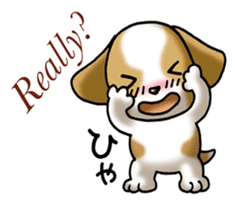 Your reply St. Bernard Dog Sticker sticker #6867259