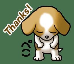 Your reply St. Bernard Dog Sticker sticker #6867260