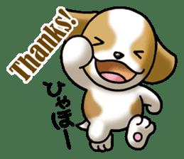 Your reply St. Bernard Dog Sticker sticker #6867262