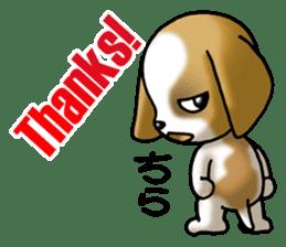 Your reply St. Bernard Dog Sticker sticker #6867263