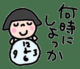 Japanese girl coto-chan vo.13 sticker #6867595