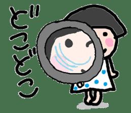 Japanese girl coto-chan vo.13 sticker #6867596