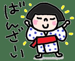 Japanese girl coto-chan vo.13 sticker #6867602