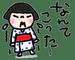 Japanese girl coto-chan vo.13 sticker #6867603