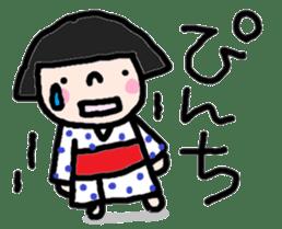 Japanese girl coto-chan vo.13 sticker #6867605
