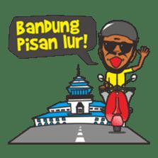Mang Jaja: Bandung People! sticker #6868637
