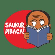 Mang Jaja: Bandung People! sticker #6868645