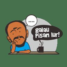 Mang Jaja: Bandung People! sticker #6868647
