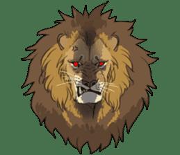 lion Sticker sticker #6892555