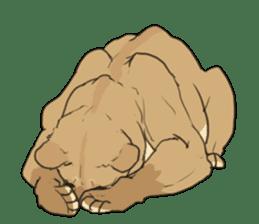 lion Sticker sticker #6892567