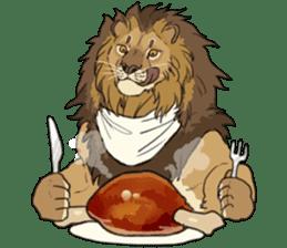 lion Sticker sticker #6892569