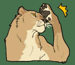 lion Sticker sticker #6892573