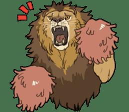 lion Sticker sticker #6892574