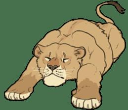 lion Sticker sticker #6892578