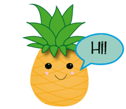 Cute Pineapples sticker #6892944