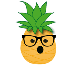 Cute Pineapples sticker #6892945
