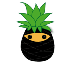 Cute Pineapples sticker #6892946
