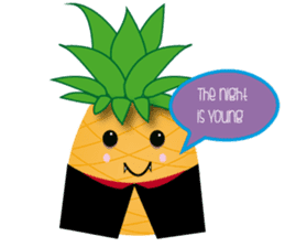 Cute Pineapples sticker #6892949
