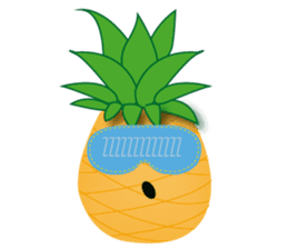 Cute Pineapples sticker #6892953