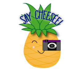 Cute Pineapples sticker #6892954