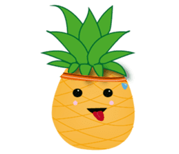 Cute Pineapples sticker #6892958