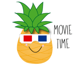 Cute Pineapples sticker #6892968