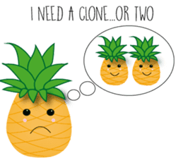 Cute Pineapples sticker #6892970