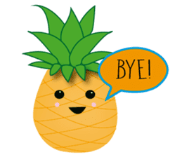 Cute Pineapples sticker #6892980