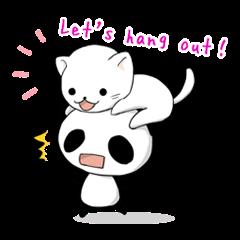Panda and best friends(ENG)