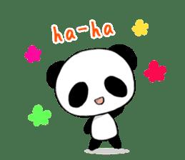 Panda and best friends(ENG) sticker #6898034
