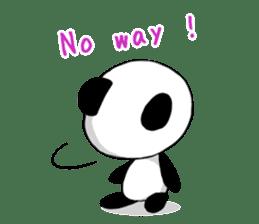 Panda and best friends(ENG) sticker #6898035