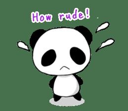 Panda and best friends(ENG) sticker #6898037