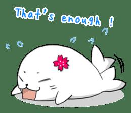 Panda and best friends(ENG) sticker #6898041