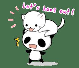 Panda and best friends(ENG) sticker #6898056