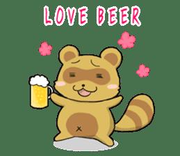 Panda and best friends(ENG) sticker #6898060