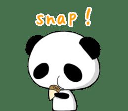 Panda and best friends(ENG) sticker #6898065