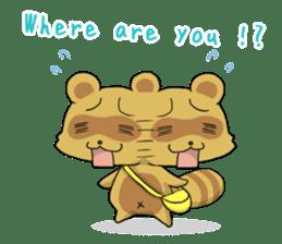 Panda and best friends(ENG) sticker #6898069