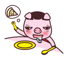 Oink Oink Piggy! sticker #6899002