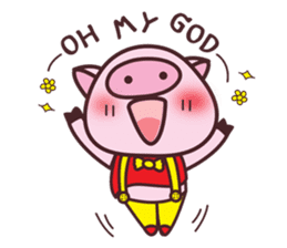 Oink Oink Piggy! sticker #6899014
