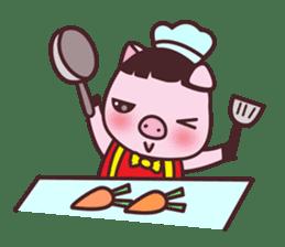 Oink Oink Piggy! sticker #6899026