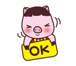 Oink Oink Piggy! sticker #6899031