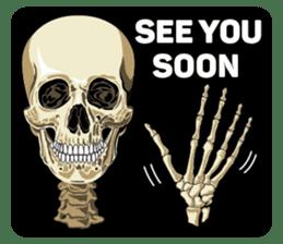 Skull and Bone Sticker English Version sticker #6899714