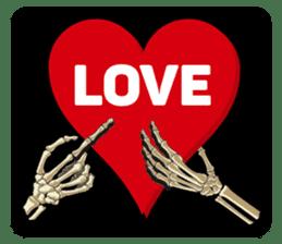 Skull and Bone Sticker English Version sticker #6899715