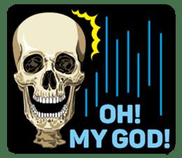 Skull and Bone Sticker English Version sticker #6899717