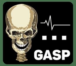 Skull and Bone Sticker English Version sticker #6899718