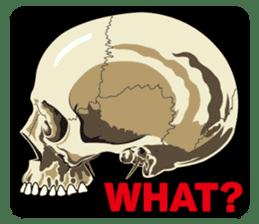 Skull and Bone Sticker English Version sticker #6899719