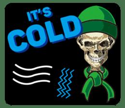 Skull and Bone Sticker English Version sticker #6899721
