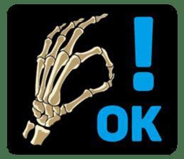 Skull and Bone Sticker English Version sticker #6899722