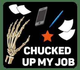 Skull and Bone Sticker English Version sticker #6899725