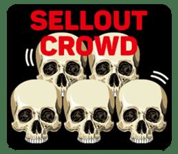 Skull and Bone Sticker English Version sticker #6899728